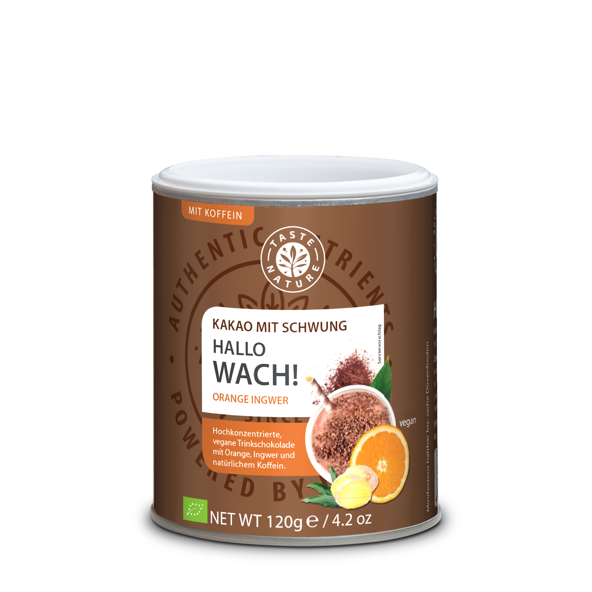 Taste Nature Hallo_Wach_Orange_Ingwer_120_Dose_VS