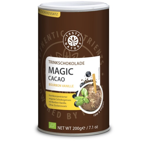 Taste Nature Magic_Cacao_Bourbon_Vanille_200_Dose_VS