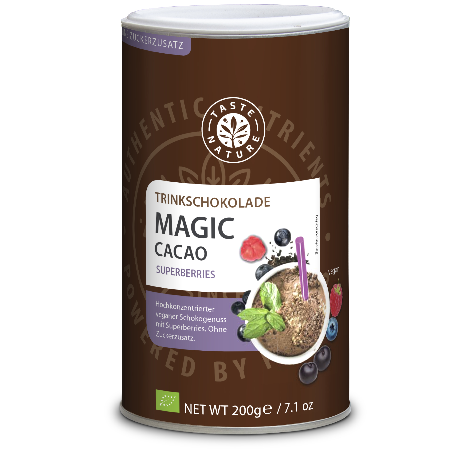 Taste Nature Magic_Cacao_Superberries_200_Dose_VS