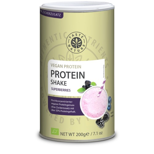 Taste Nature Protein_Shake_Superberries_200_Dose_VS